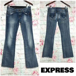 REROCK EXPRESS Women's Boot Cut Jeans   2R